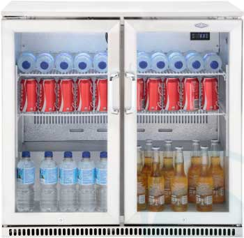 Beefeater Fridge Double Glass Door