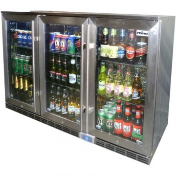 Rhino Fridge Triple Glass Door